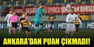 Ankara'dan puan çıkmadı! Ankaragücü 4-3 Konyaspor