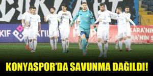 Konyaspor'da savunma dağıldı!