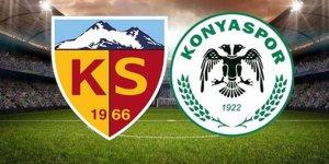 Kayserispor - Konyaspor | İLK 11'LER BELLİ OLDU!