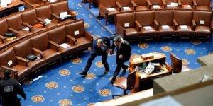 ABD'de Kongre binasındaki olaylarda çok sayıda polis yaralandı