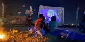 Kırsal kesimdeki çocuklar sinema ile buluştu