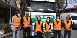 Konya'dan Suriye'ye yardım tırı yola çıktı