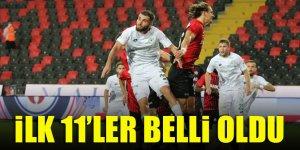 Konyaspor - Gaziantep FK   İLK 11'LER!