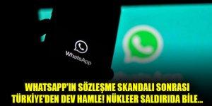 WhatsApp'ın sözleşme skandalı sonrası Türkiye'den dev hamle! Nükleer saldırıda bile...