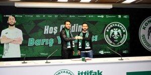 Konyaspor Barış Yardımcı ile sözleşme imzaladı