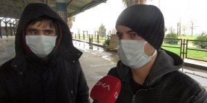 Sürücü adayları koronavirüs kurallarına uyarak sınava girdi