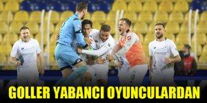 Konyaspor'un golleri yabancı oyunculardan