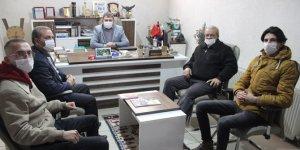 Yeniden Refah Partisi'nden Yeni Haber'e ziyaret