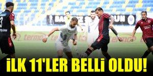 Konyaspor - Gençlerbirliği   İLK 11'LER BELLİ OLDU