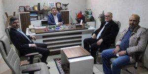 Yeniden Refah Partisi İl Başkanlığı'ndan Yeni Haber'e ziyaret