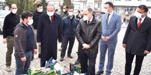 Vali Özkan, ilçelerde  yatırımları inceledi