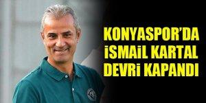 Konyaspor'da İsmail Kartal devri kapandı