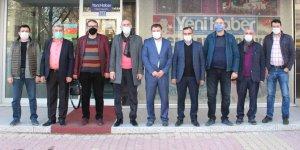 ASRİAD Konya'dan Yeni Haber'e ziyaret