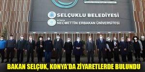 Aile, Çalışma ve Sosyal Hizmetler Bakanı Zehra Zümrüt Selçuk, Konya'da ziyaretlerde bulundu