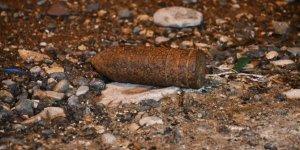Kahramanmaraş'ta patlamamış top mermisi bulundu