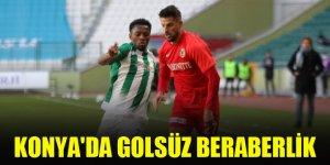 Konya'da golsüz beraberlik   Konyaspor 0-0 Gaziantep FK