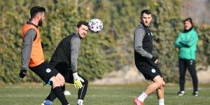 Konyaspor'da Fenerbahçe hazırlıkları başladı