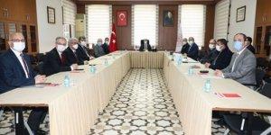 """Konya'da """"Üniversite Güvenliği Koordinasyon ve İşbirliği Toplantısı"""" yapıldı"""