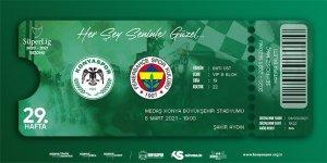 Konyaspor-Fenerbahçe maçı biletleri satışa çıktı