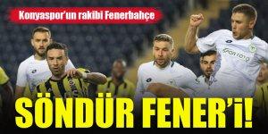 Konyaspor'un rakibi Fenerbahçe
