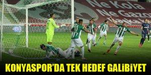 Konyaspor'da tek hedef galibiyet