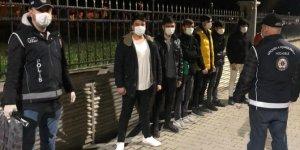 Yurda yasa dışı yollarla giren 7 düzensiz göçmen yakalandı