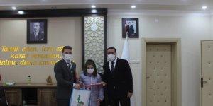 Bozkır'da 57. Kütüphane Haftası dolayısıyla tören düzenlendi