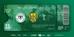 Konyaspor - Ankaragücü maçı hatıra biletleri satışta
