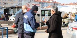 Beyşehir'de zabıtadan koronavirüs denetimi