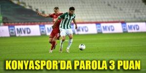 Konyaspor'da parola 3 puan