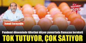 Pandemi döneminde tüketimi düşen yumurtada Ramazan bereketi