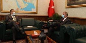 Bakan Akar, Slovenya Büyükelçisi ile görüştü