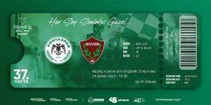 Konyaspor'da Hatayspor maçı biletleri satışta