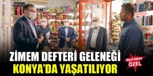 Zimem defteri geleneği Konya'da yaşatılıyor