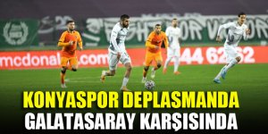 Konyaspor deplasmanda Galatasaray karşısında