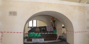 Hazreti Ukkaşe türbesinin restorasyonunda sona yaklaşıldı