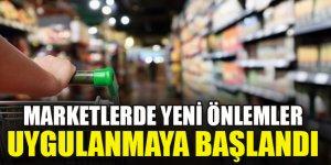 Marketlerde yeni önlemler uygulanmaya başlandı...Hangi ürünler satılmayacak?