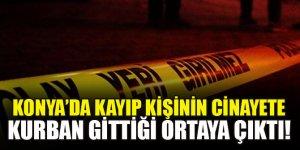 Konya'da hakkında kayıp başvurusu yapılan kişi su kuyusunda silahla öldürülmüş bulundu