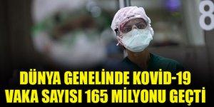 Dünya genelinde Kovid-19 vaka sayısı 165 milyonu geçti