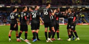 Liverpool, deplasmanda Burnley'i 3 golle geçti