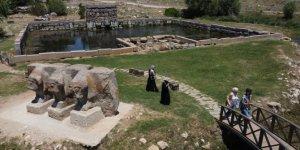 Beyşehir'deki tarihi su anıtı kuraklıktan etkilendi