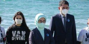 Emine Erdoğan ve Bakan Kurum'un Van ziyareti