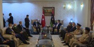 Bakan Çavuşoğlu Libya'da mevkidaşıyla görüştü