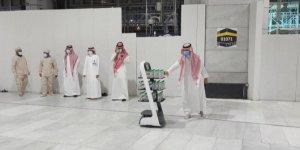 Hac ziyaretinde zemzem suyunu robotlar dağıtacak