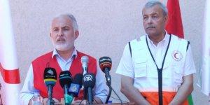 Kızılay Genel Başkanı Kınık, Gazze'nin en büyük insani yardım lojistik merkezini açtı