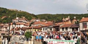 Kuzey Makedonya ve Kosova'da Srebrenitsa Soykırımı kurbanları anıldı