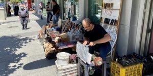 Kırşehir'de Kurban Bayramı öncesi bıçakçılar yoğun mesai yapıyor