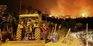 Osmaniye'de çıkan orman yangınına müdahale sürüyor
