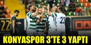 Konyaspor 3'te 3 yaptı