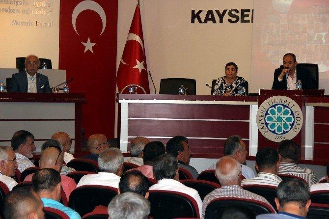 KTO Temmuz ayı meclis toplantısı yapıldı